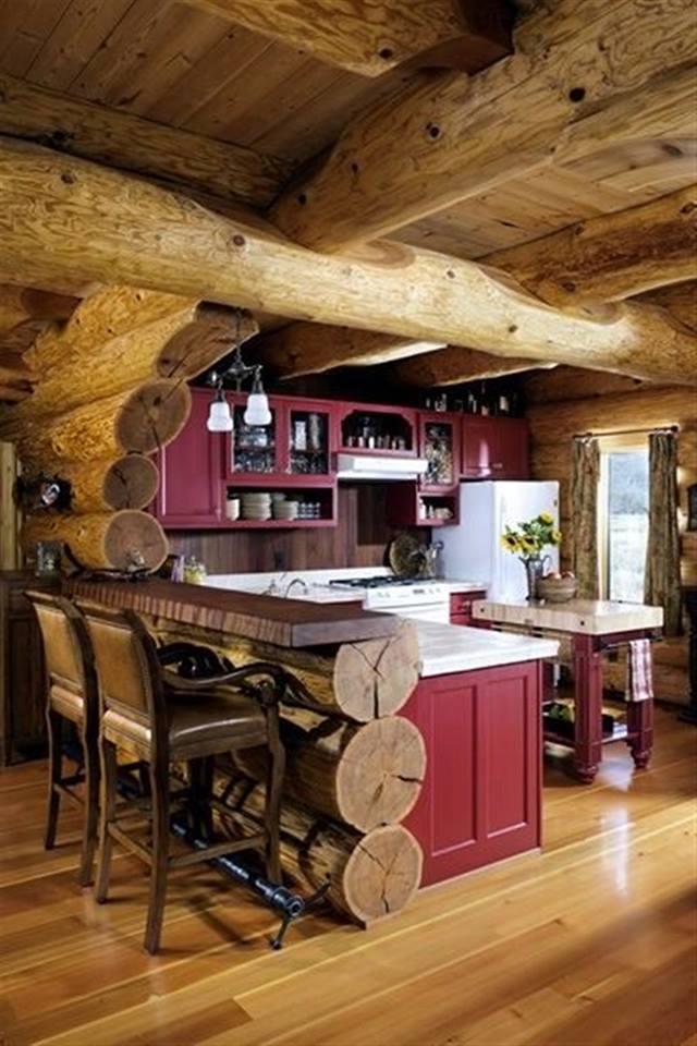 Ciepłe, drewniane, klimatyczne wnętrza