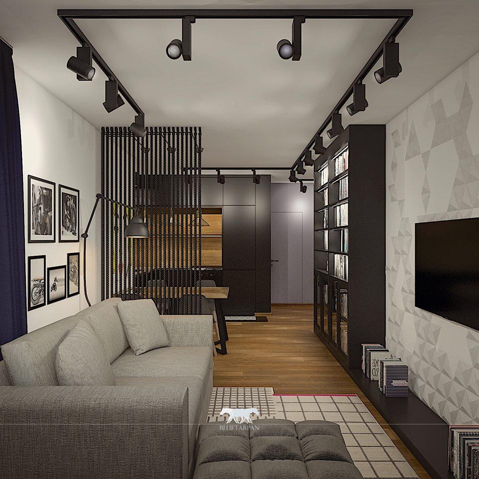 apartament dla singla zakochanego w komiksach projektu