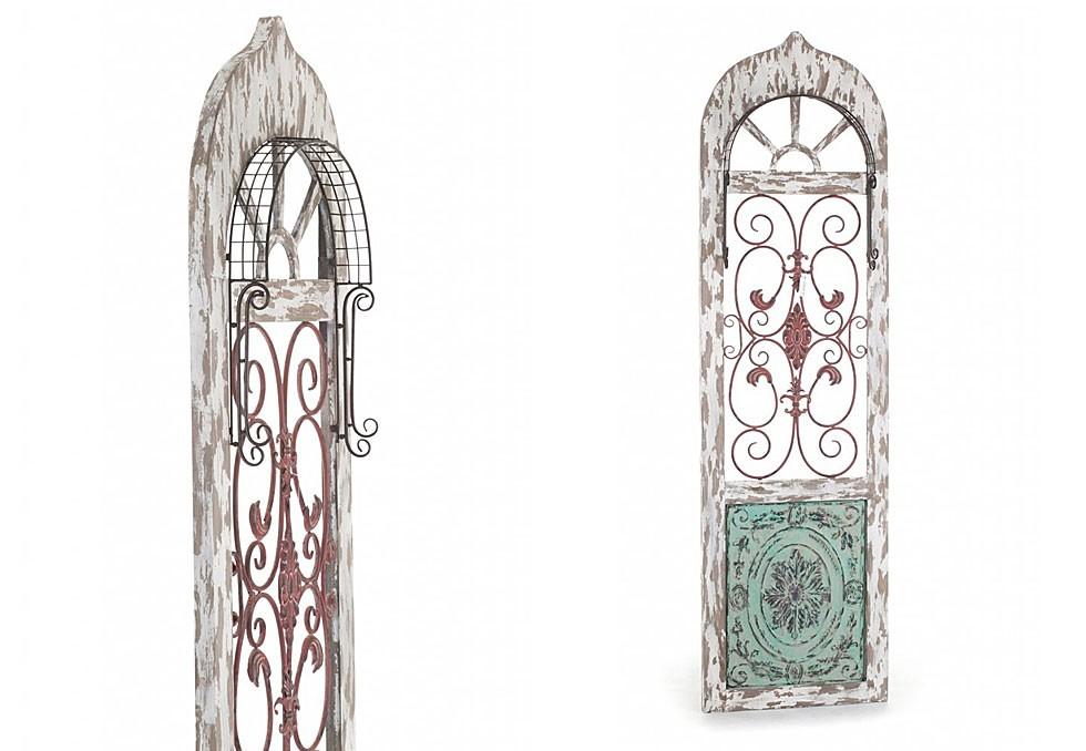 Drzwi ozdobne w stylu prowansalskim