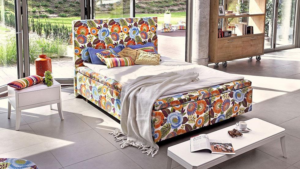 Sypialnia w stylu Flower Power