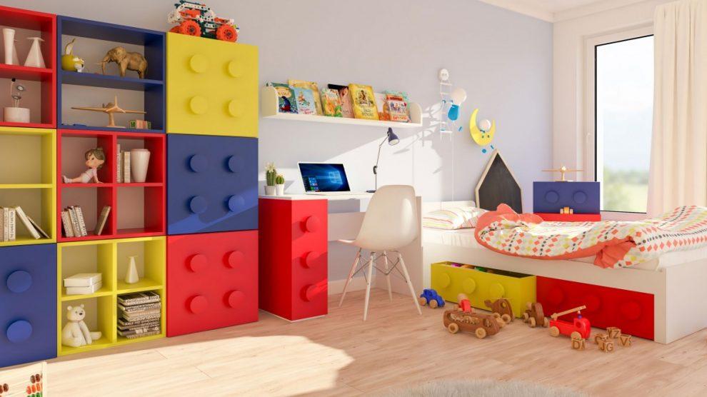 Meble Do Pokoju Dla Fanów Klocków Lego Decodom