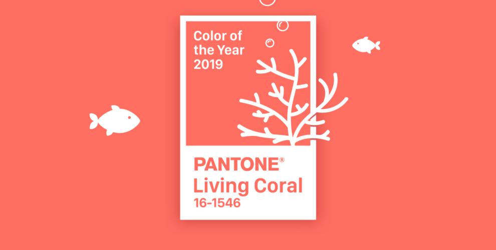 c9b7fee0b40d58 Living Coral - Pantone - kolor roku 2019 - DecoDom